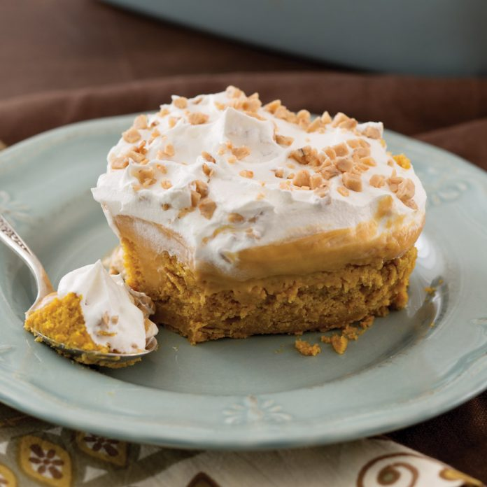 Pumpkin Pie Filling And Yellow Cake Mix Recipe