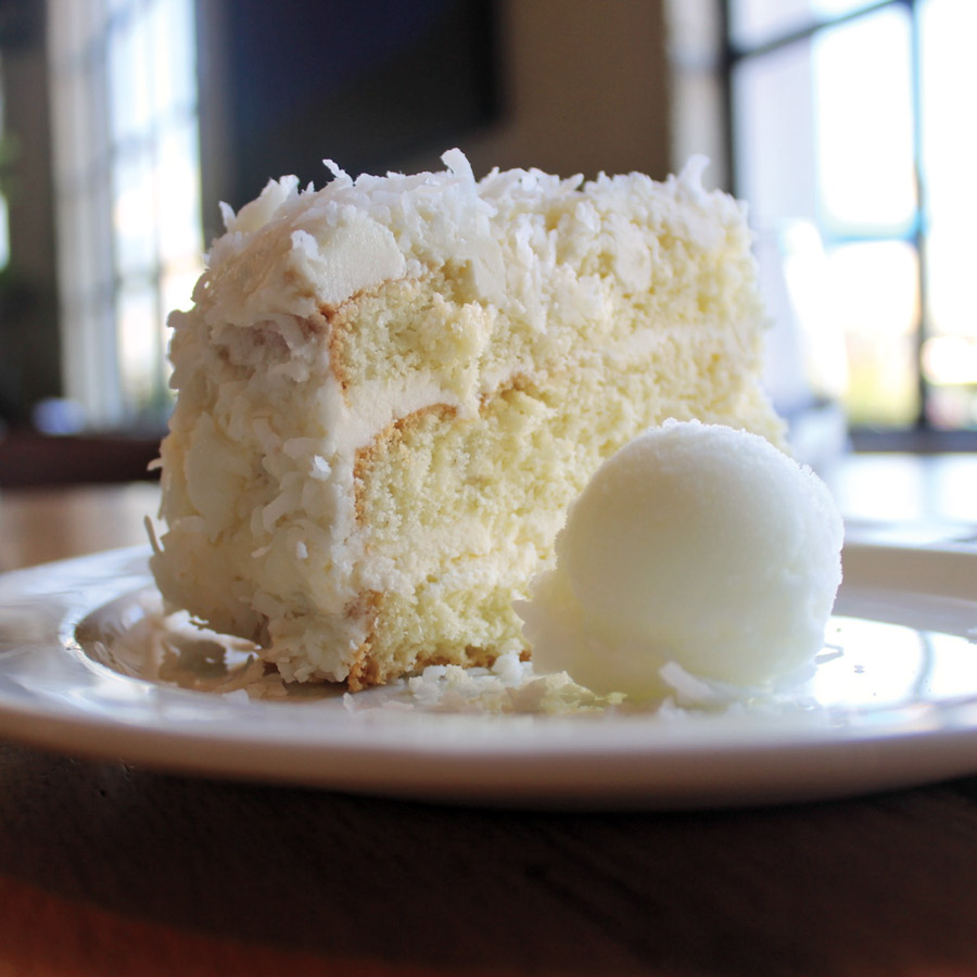 Southern Comfort Coconut Cake