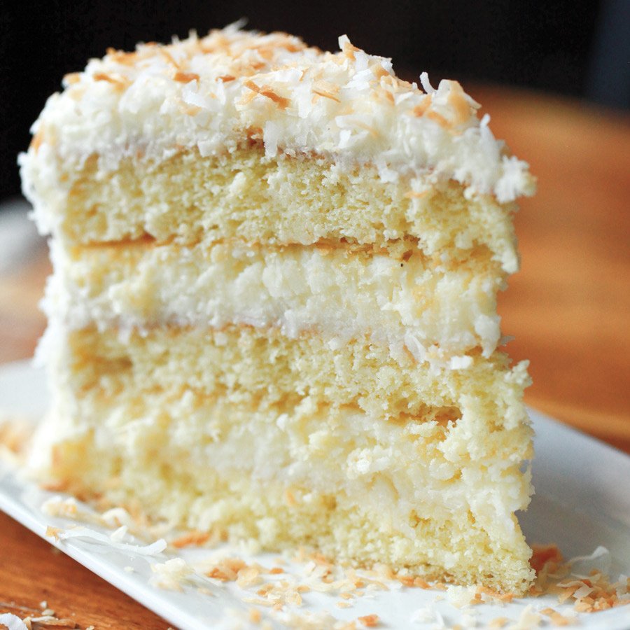 Coconut cake from Blackbird.