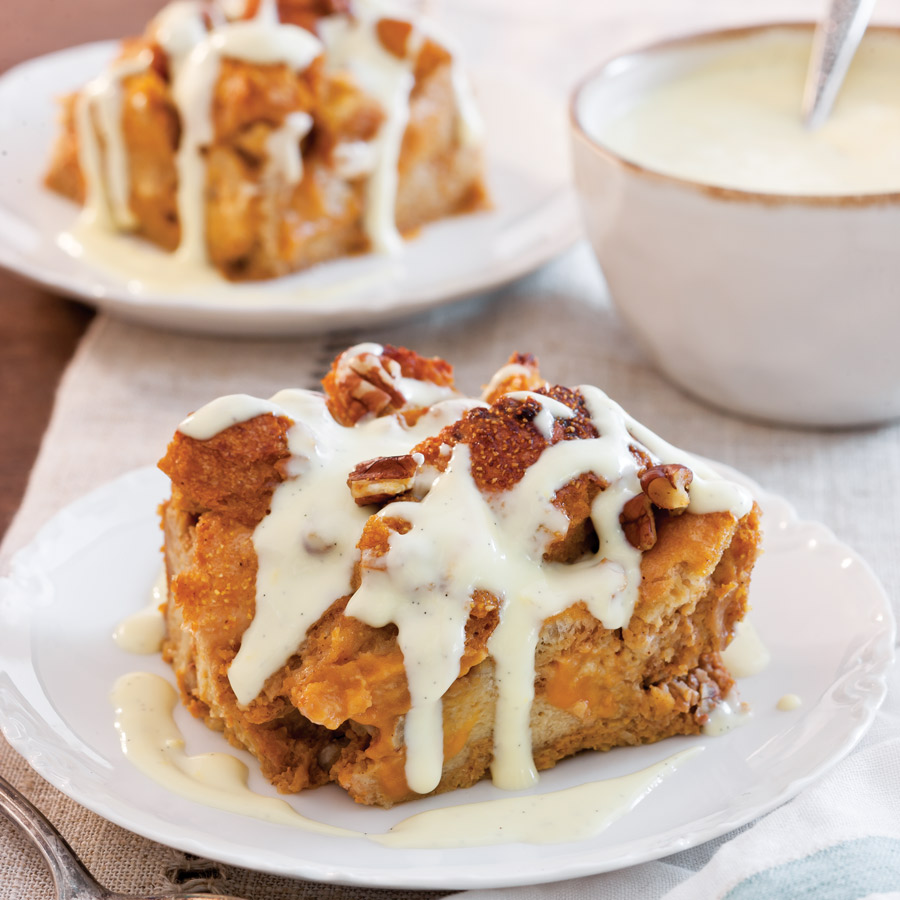 Apple Pudding Cake With Maple Syrup