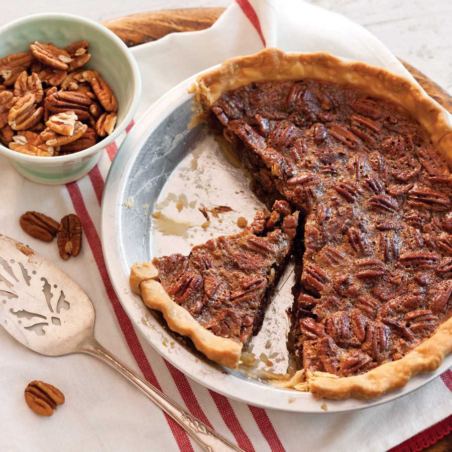 Chocolate-Pecan Pie - Taste of the South