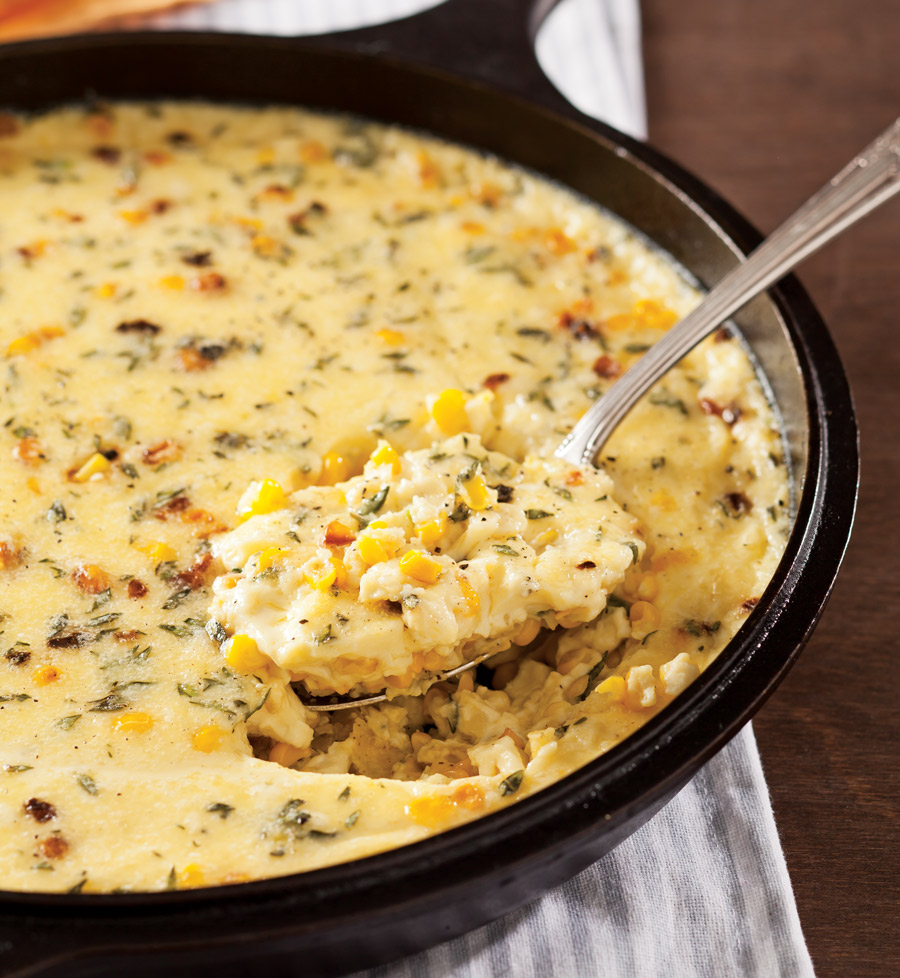 Thanksgiving Side Dishes - Roasted Corn Pudding