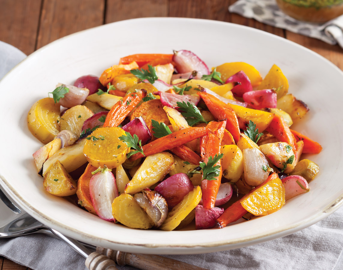 Thanksgiving Side Dishes - Roasted Root Vegetables
