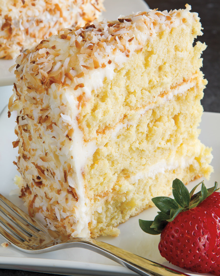 Coconut Mayonnaise Cake
