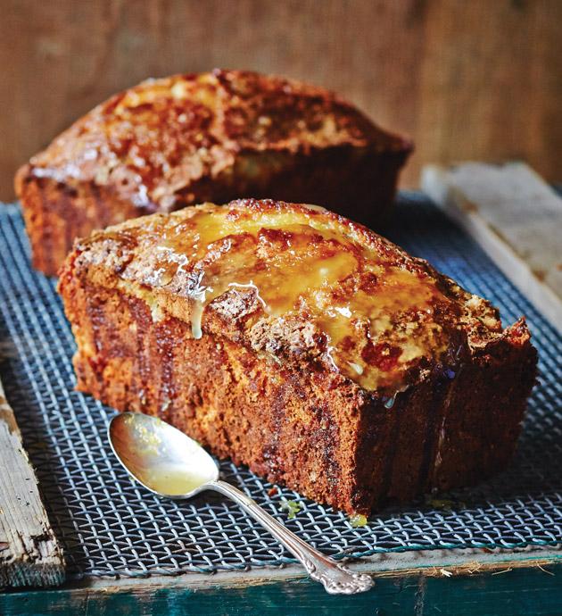 Meyer Lemon-Coconut Pound Cake - Taste of the South