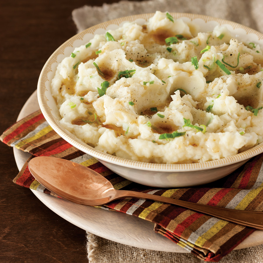 Buttermilk Mashed Potatoes with Browned Butter - Taste of the South