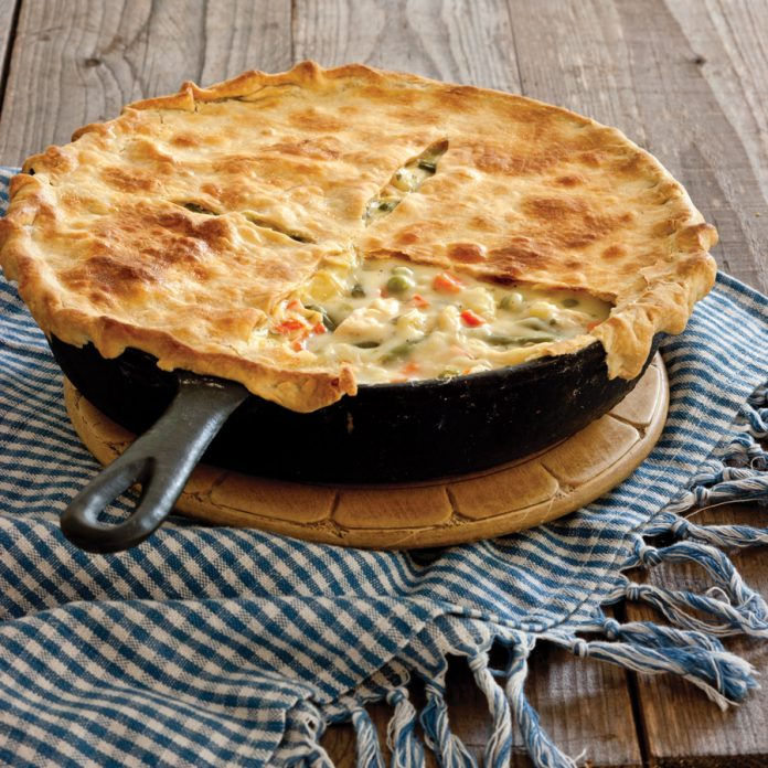 picture of pot pie