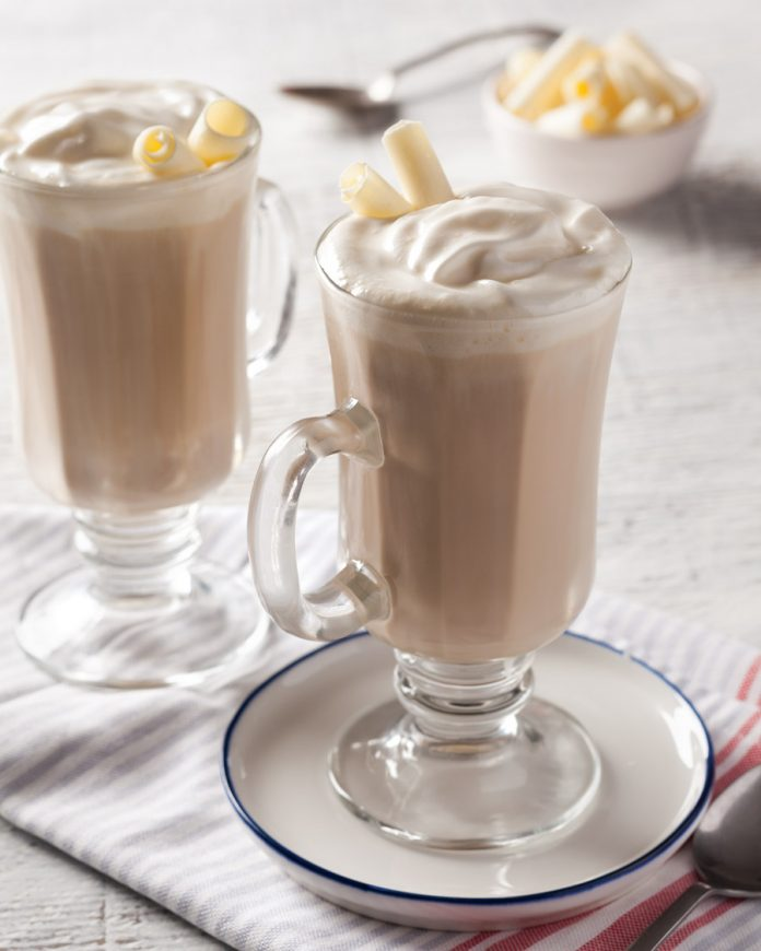 White Chocolate–Hazelnut Mocha