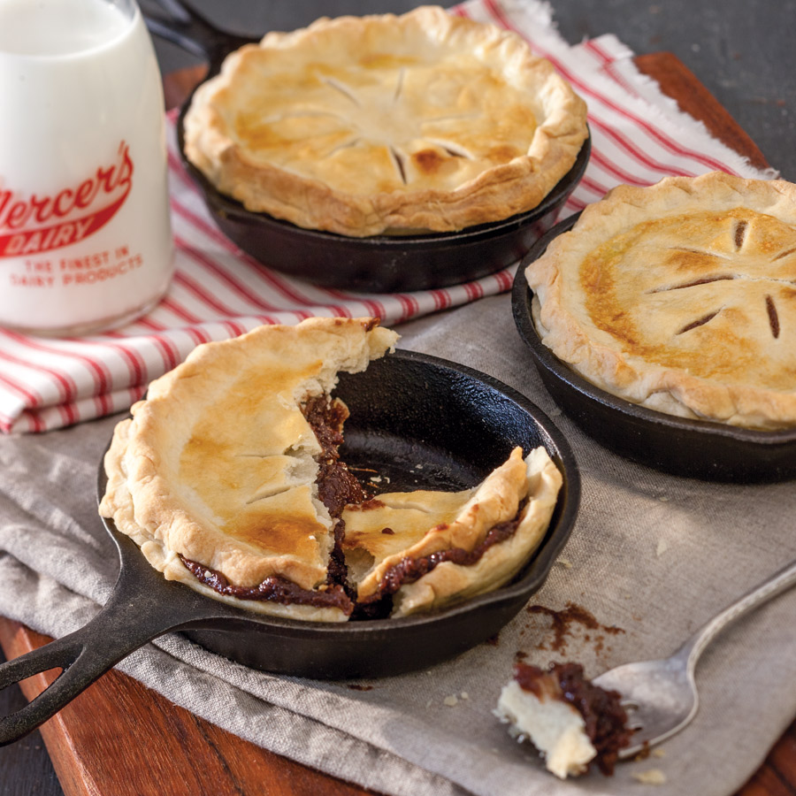 Personal Chocolate Pies - Taste of the South