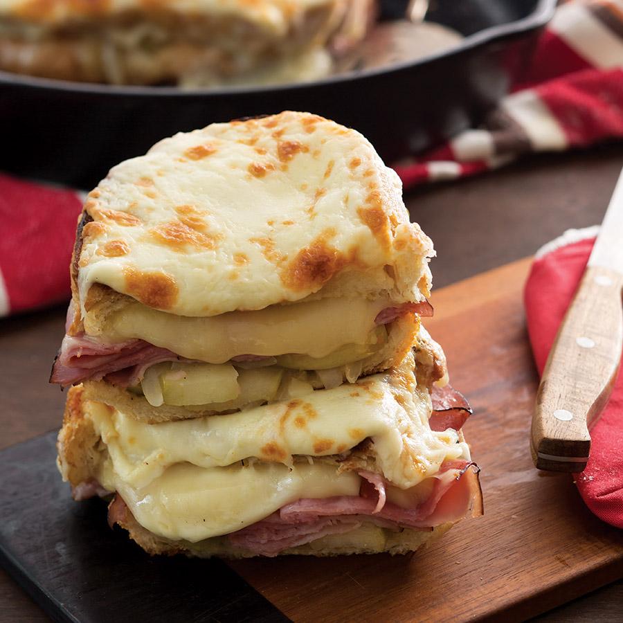 Skillet-Sandwich