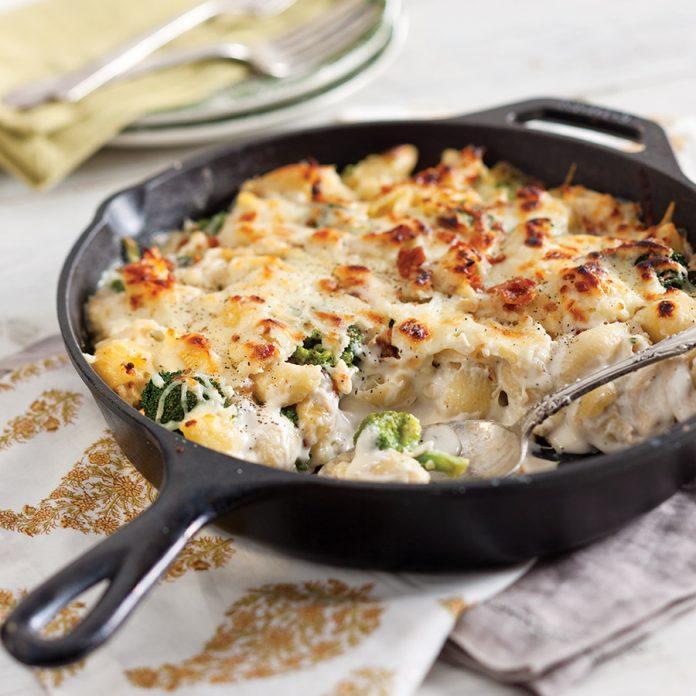 Chicken and Broccoli Skillet Casserole