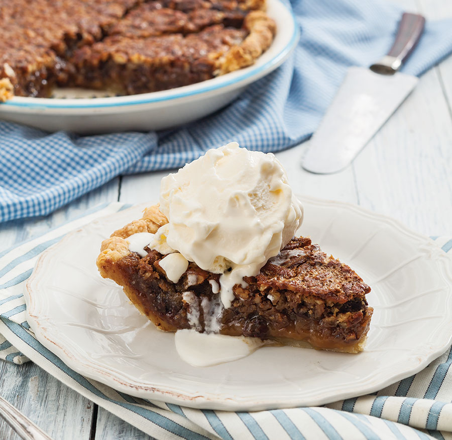 Kentucky Bourbon Chocolate Pecan Pie - Taste of the South