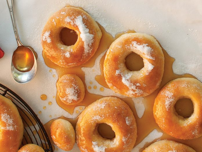 Cider-Glazed Baked Doughnuts