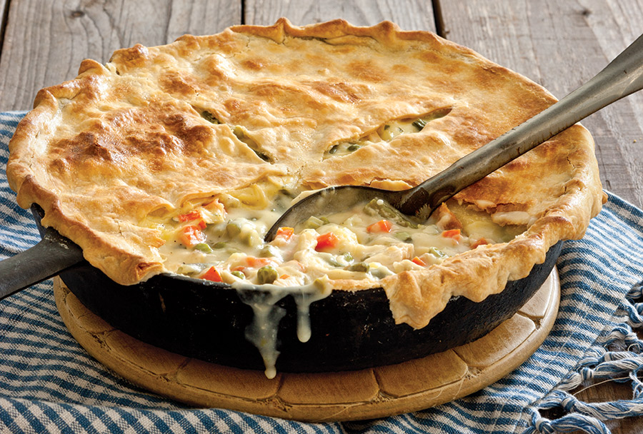 South's Best Chicken Pot Pie