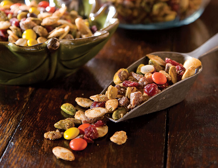 pumpkin seed trail mix packed with pumpkin seeds pistachios macadamia ...