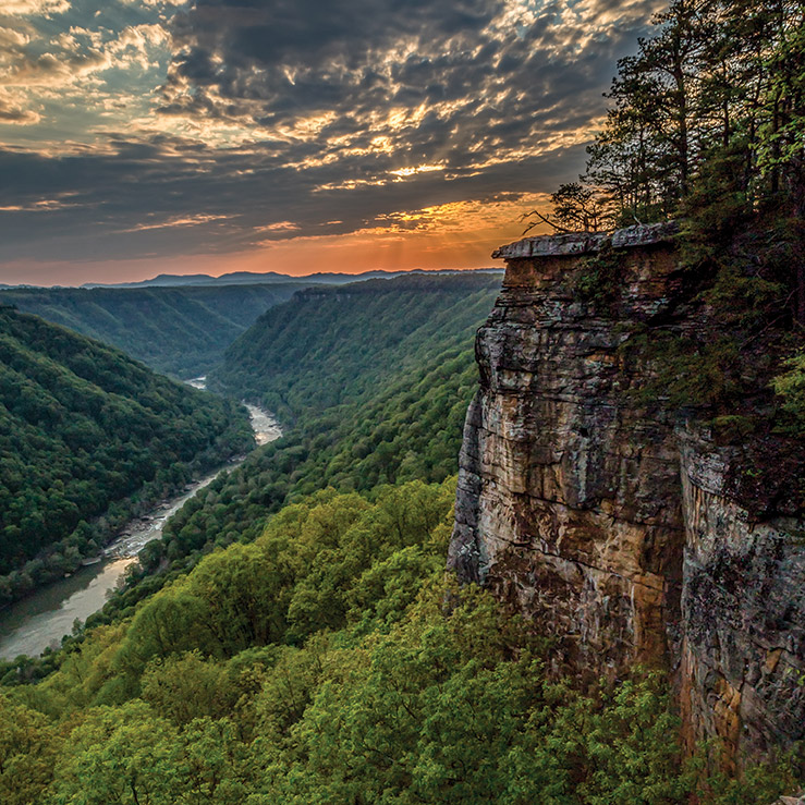 Backpacking West Virginia: See The South: National Parks Of Southern West Virginia