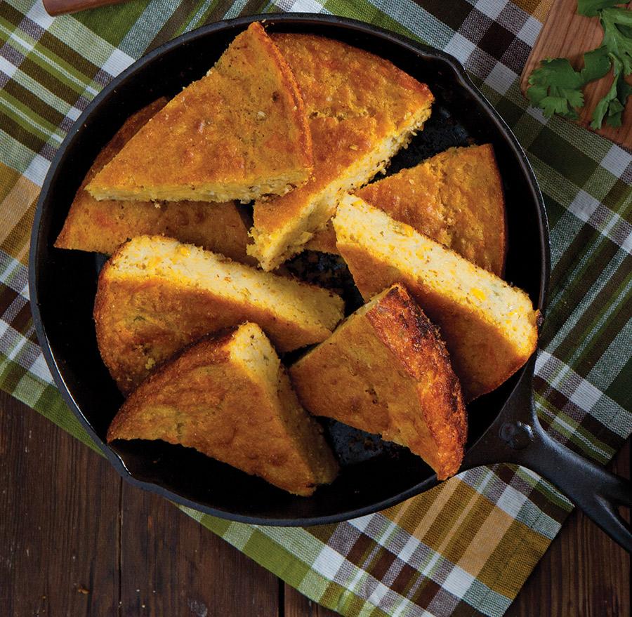 Southwest Skillet Cornbread Taste Of The South