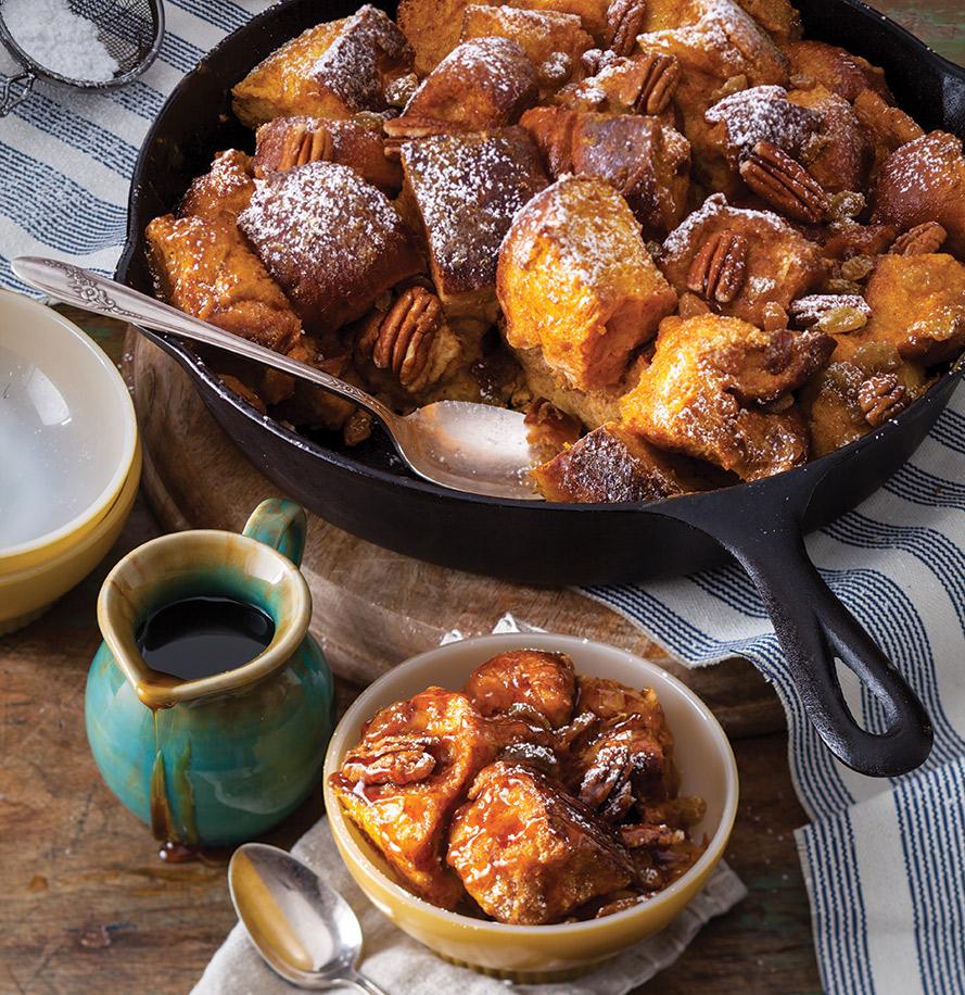 Pumpkin-Maple Bread Pudding