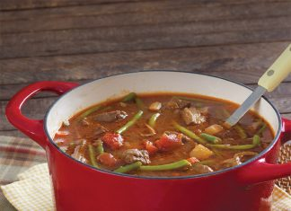Hearty Vegetable-Beef Stew
