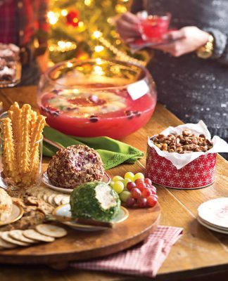 Cranberry Cheddar Cheese Ball