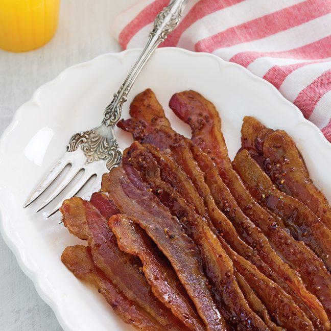 Glazed Bacon