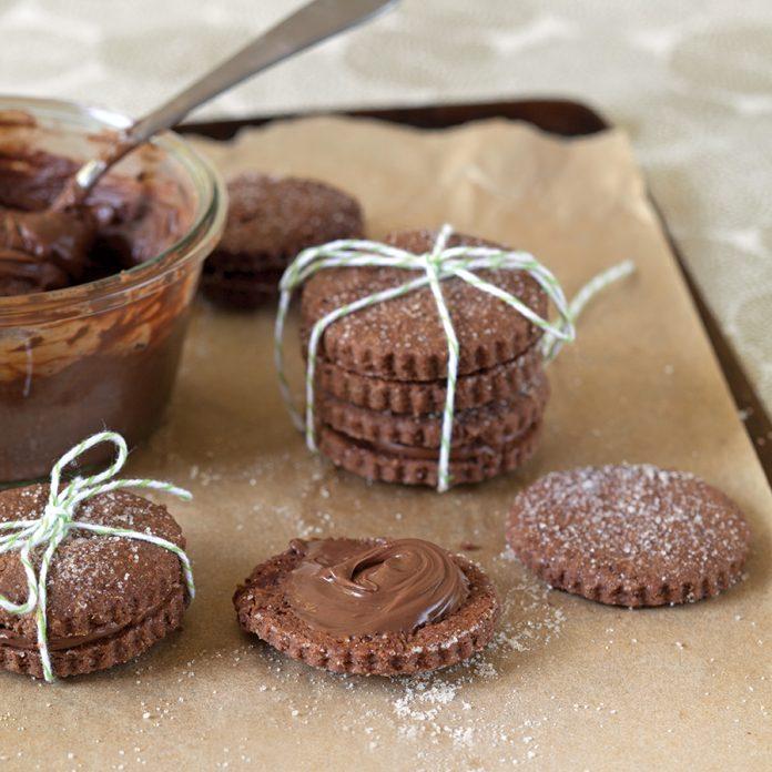 Chocolate-Hazelnut Sandwich Cookies