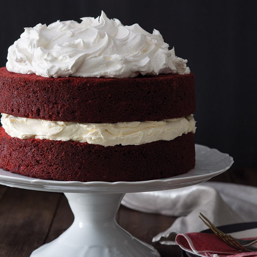 Cream Cheese Cake Filling Red Velvet Cake