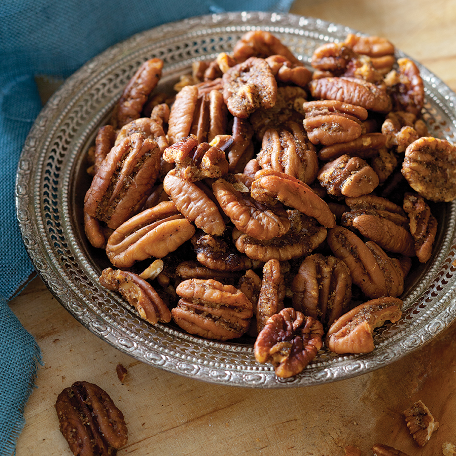 Spiced Pecans Taste Of The South