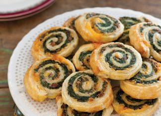 Sausage-Spinach Pinwheels