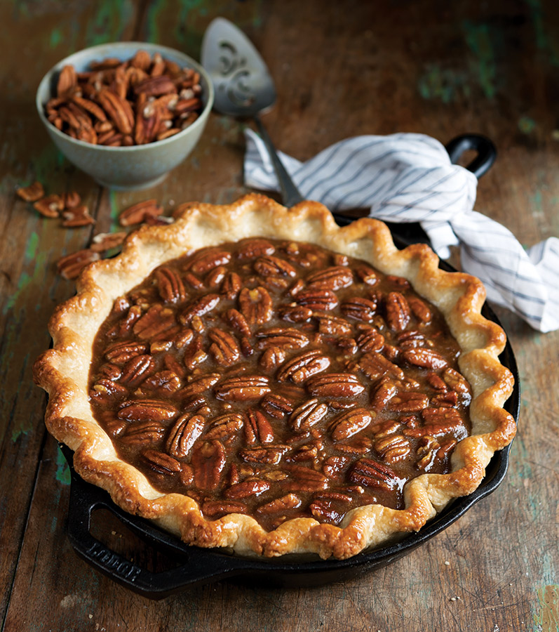 Sweet Potato Pecan Pie - Taste of the South
