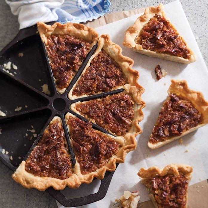 Coconut-Pecan Pie Wedges