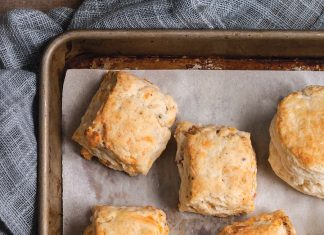 Bacon-Cheddar Biscuits