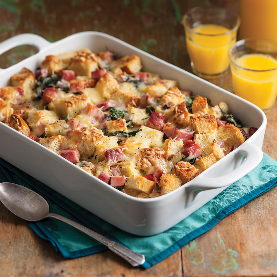 Breakfast Cassorle: Overnight Breakfast Casserole