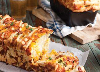 Bacon-Cheddar Pull-Apart Bread
