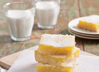 Buttermilk Chess Bars