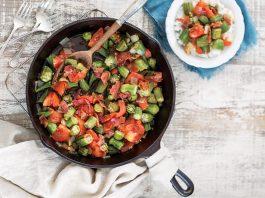 stewed okra