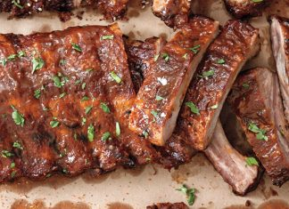 Orange-Chipotle Ribs