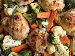 Dijon Mustard Chicken and Vegetables