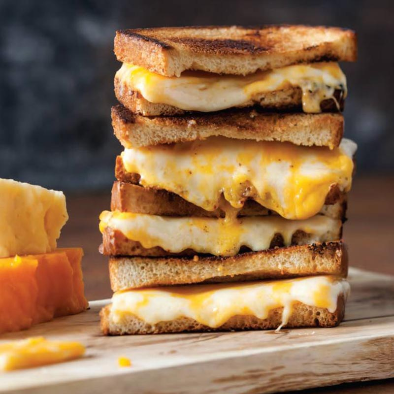 Three cheese Griled Cheese Fall Pairings Soups and Sandwiches