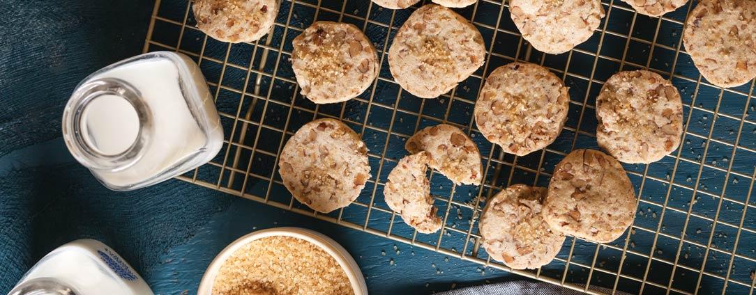 Pecan Slice and Bake Cookies Butter