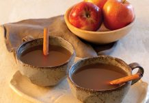 Spiced Bourbon-Apple Cider