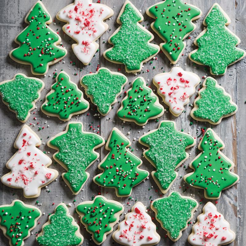 Royal Icing Christmas Cookies.Royal Icing