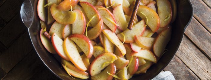 Browned Butter Apples