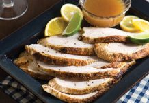 Slow Cooker Citrus Turkey Breast