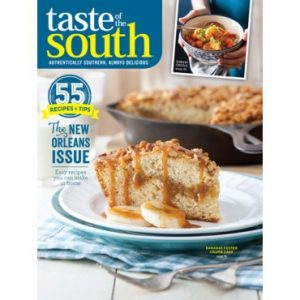 Taste of the South March April 2017