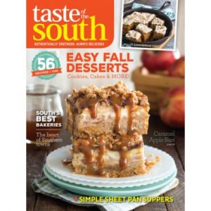 Taste of the South September October 2017
