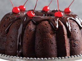 Chocolate Cherry Bundt Cake