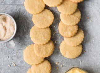 Browned Butter Shortbread Cookies