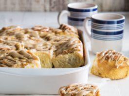 coffee almond morning buns