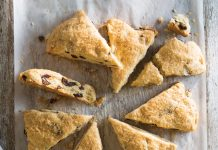 Fig and Browned Butter Scones